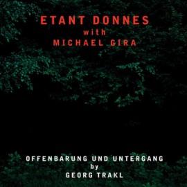 ETANT DONNES / GIRA Michael : LP Offenbarung Und Untergang By Georg Trakl