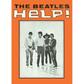 BEATLES (the) - MAGNET : Help Orange