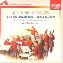2nd HAND / OCCAS : STRAUSS Johann : CD Le Beau Danube Bleu - Valses Célèbres