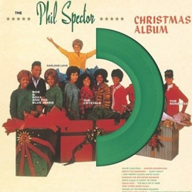 VARIOUS : LP The Phil Spector Christmas Album (A Christmas Gift For You) (Green)
