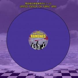 RAMONES : LP Gimme Shock Treatment Purple Vinyl Edition