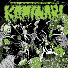 VARIOUS : LP Kaminari - Volume 2 - Nineteen More Japanese Garage Monsters