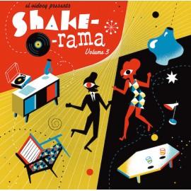 VARIOUS : LP+CD Shake-0-Rama Vol 3