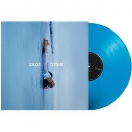 ZAZIE : LP Totem Vinyle bleu turquoise