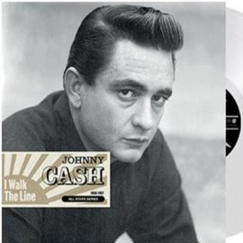 CASH Johnny : LP I Walk The Line 1956-1957 Vinyle coloré