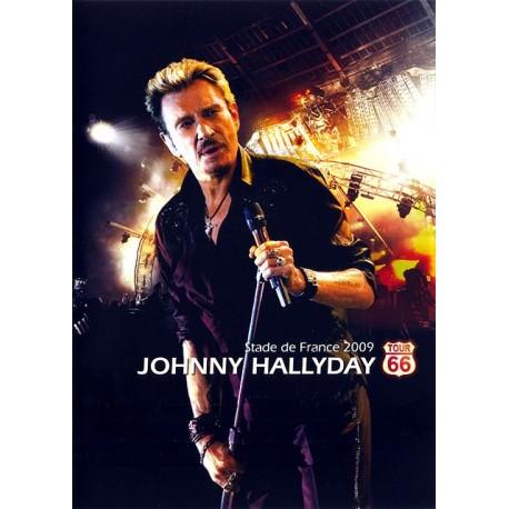 HALLYDAY Johnny : DVD Stade De France 2009 Tour 66
