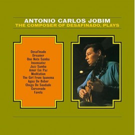 JOBIM Antonio Carlos : LP The Composer Of Desafinado, Plays