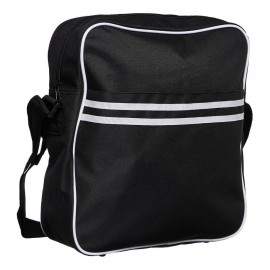 "VINYL BAG : BLACK URBAN GEAR Retro Messenger 12"" LP"