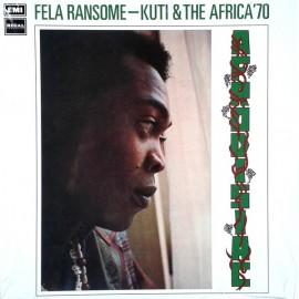 FELA KUTI & HIS AFRICA 70 : LP Afrodisiac