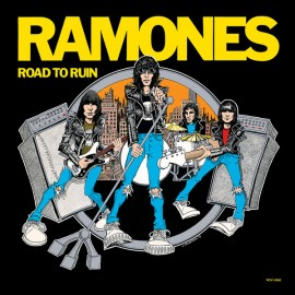 RAMONES : LP Road To Ruin (Blue)