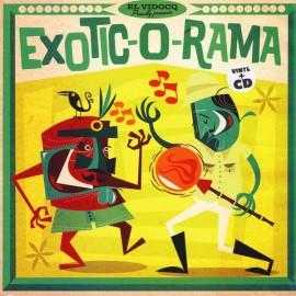 VARIOUS : LP+CD Exotic-O-Rama