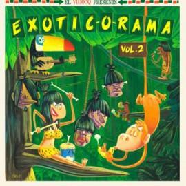 VARIOUS : LP+CD Exotic-O-Rama Vol2