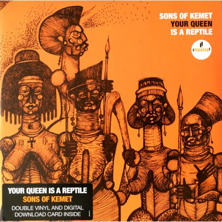 SONS OF KEMET : LPx2 Your Queen Is A Reptile