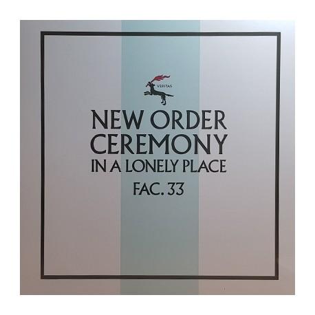 """NEW ORDER : 12""""EP Ceremony"""