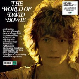 BOWIE David : LP The World of David Bowie
