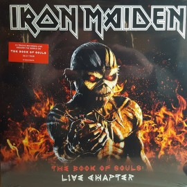 IRON MAIDEN : LPx3 The Book Of Souls : Live Chapter