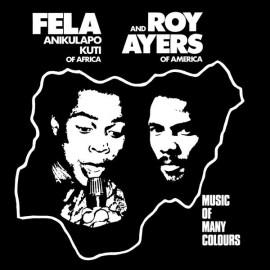 FELA KUTI & AYERS Roy : LP Music Of Many Colours
