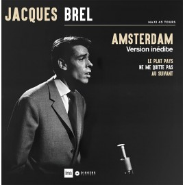 "BREL Jacques : 12""EP Amsterdam"