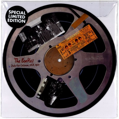 """BEATLES (the) : 10""""EP Live At Indiana State Fair"""