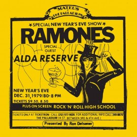 RAMONES : LPx2 Live at the Palladium, New York, NY (31/12/79)