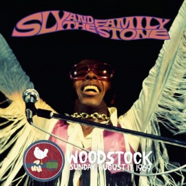 SLY & THE FAMILY STONE : LPx2 Woodstock Sunday August 17, 1969