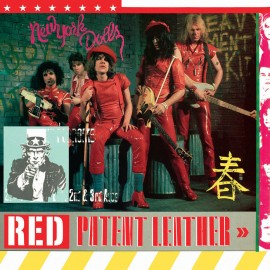 NEW YORK DOLLS (the) : LP Red Patent Leather