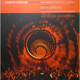 GIBBONS Beth / GORECKI Henryk : LP+DVD Symphony No. 3 (Symphony Of Sorrowful Songs) Op. 36