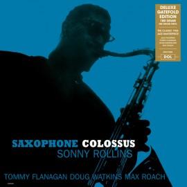 SONNY ROLLINS : LP Saxophone Colossus