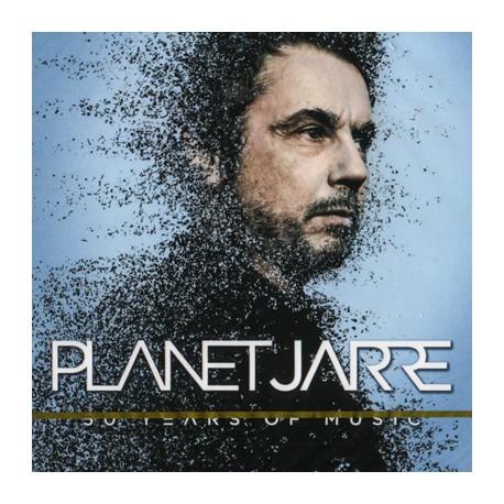 JARRE Jean-Michel : CDx2 Planet Jarre (50 Years Of Music)