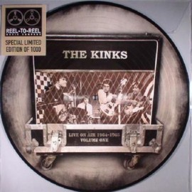 KINKS (the) : LP Picture Live On Air 1964 - 1965 Volume One