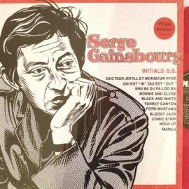 GAINSBOURG Serge : LP Initials B.B. (rouge)