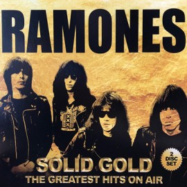 RAMONES : CDx2 Solid Gold (The Greatest Hits On Air)