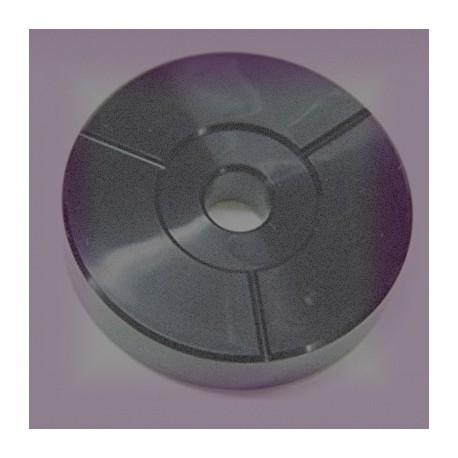 CENTREUR Platine Vinyle Plastique (noir)