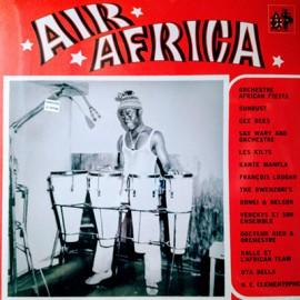 VARIOUS : LP Noir C'est Noir Premiere Volume : Air Africa