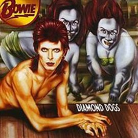 BOWIE David : LP Diamond Dogs (red)