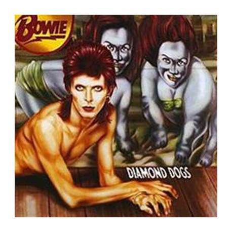 BOWIE David : LP Diamond Dogs (red)