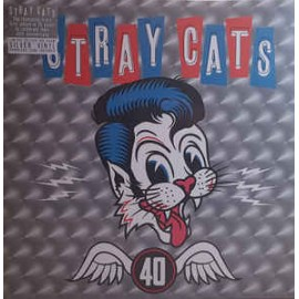 STRAY CATS : LP 40 (silver)