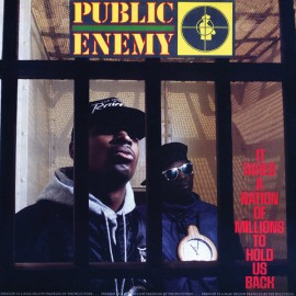 PUBLIC ENEMY : LP It Takes A Nation Of Millions To Hold Us Back
