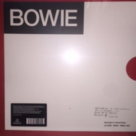 BOWIE David : LP Box The Mercury Demos