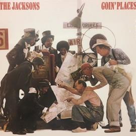 JACKSONS (the) : LP Goin' Places