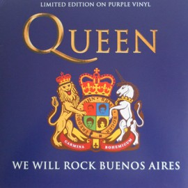 QUEEN : LP We Will Rock Buenos Aires