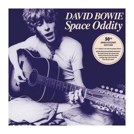 """BOWIE David : 7""""EPx2 Space Oddity Coffret Vinyle 45 tours Edition Limitée"""