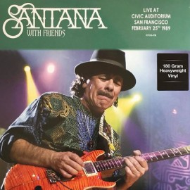 SANTANA : LP Live At Civic Auditorium San Francisco February 25th 1989