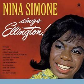 SIMONE Nina : LP Nina Simone Sings Ellington!