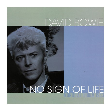 BOWIE David : LP No Sign Of Life (Montreal Forum 1983)