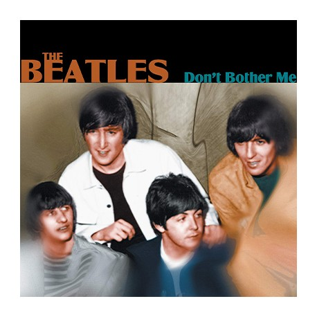 BEATLES (the) : LP Don´t Bother Me (red)