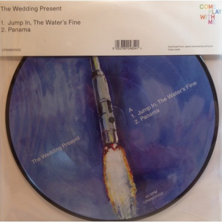 """WEDDING PRESENT (the) : 10""""EP Jump In, The Water's Fine"""