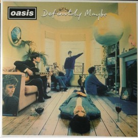OASIS : LPx2 Definitely Maybe (colored - 25th anniversary)