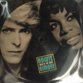 SPLIT PICTURE BOWIE David / SIMONE Nina