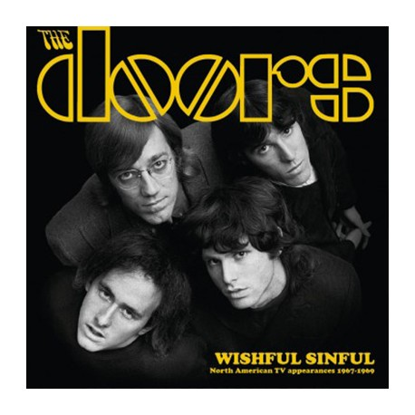 DOORS (the) : LP Wishful Sinful : North American TV Appearances 1967-1969
